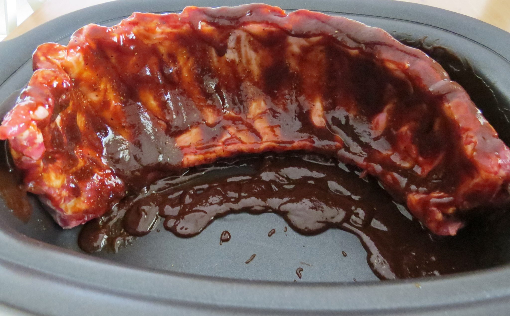 Crock-Pot BBQ Spareribs