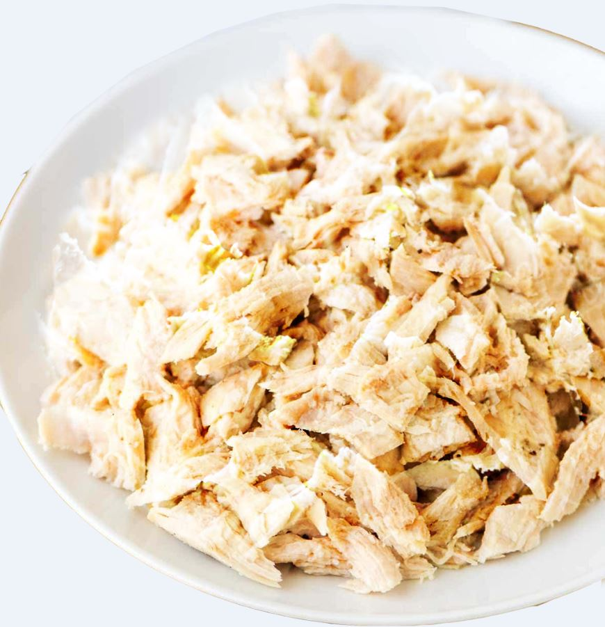 Slow Cooker Shredded Chicken Breasts