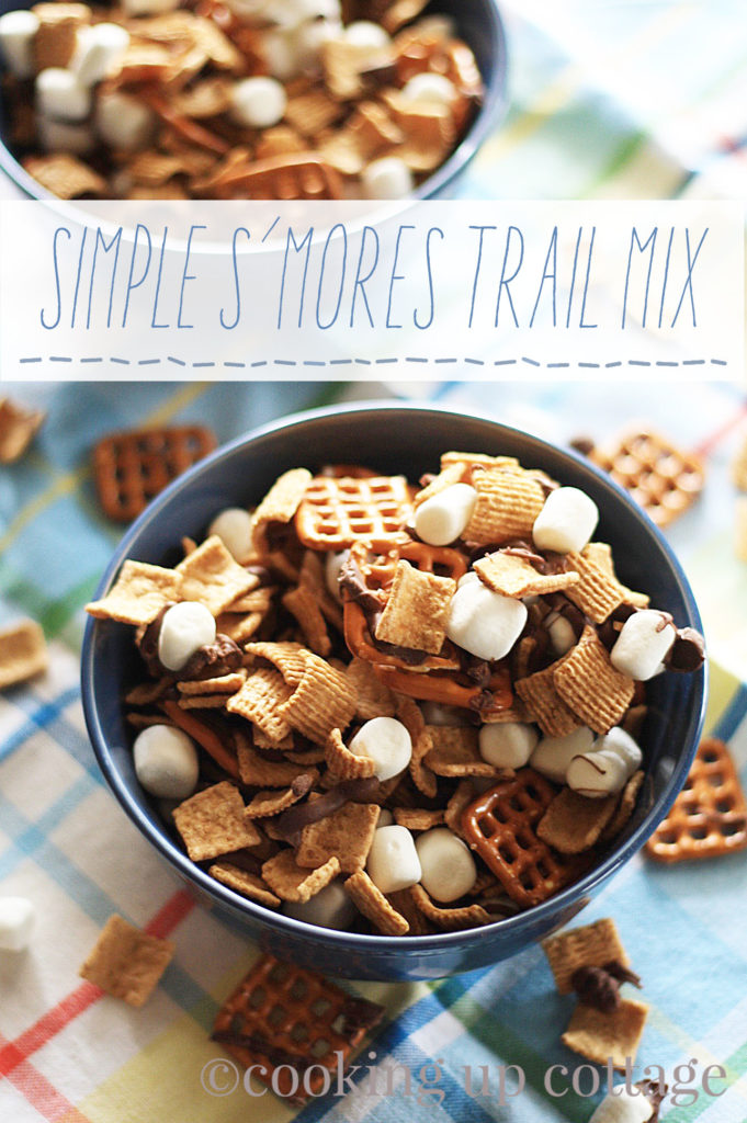 Simple S'mores Trail Mix